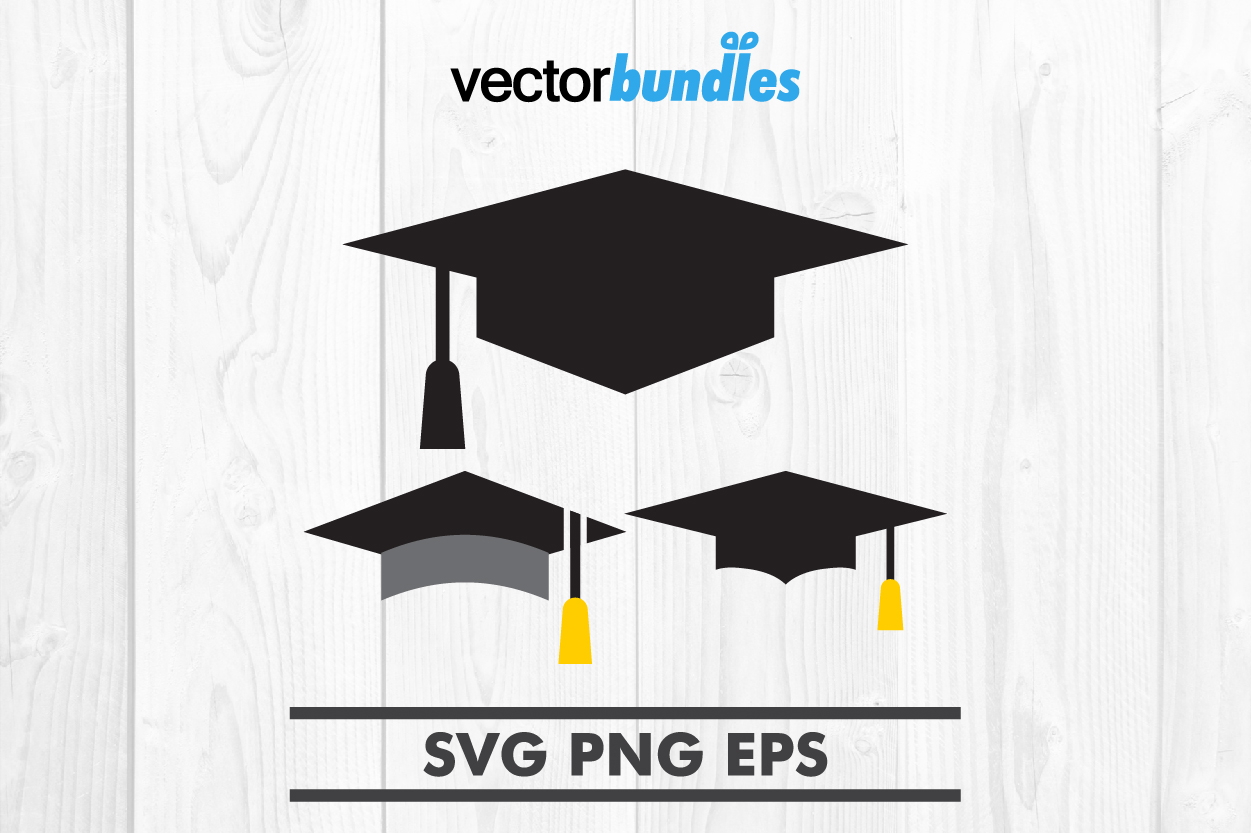 Download Free Graduation Cap Clip Art Svg Graphic By Vectorbundles Creative for Cricut Explore, Silhouette and other cutting machines.