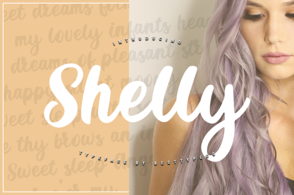 Print on Demand: Shelly Script & Handwritten Font By besttypeco