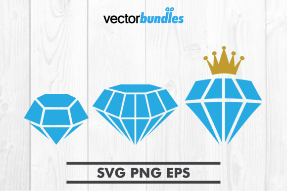 Download Free Diamond Clip Art Svg Graphic By Vectorbundles Creative Fabrica for Cricut Explore, Silhouette and other cutting machines.