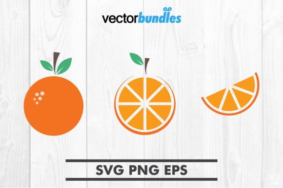 Download Free Orange Fruit Clip Art Svg Graphic By Vectorbundles Creative for Cricut Explore, Silhouette and other cutting machines.