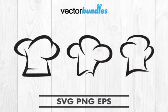 Download Free Chef Hat Clip Art Svg Graphic By Vectorbundles Creative Fabrica for Cricut Explore, Silhouette and other cutting machines.