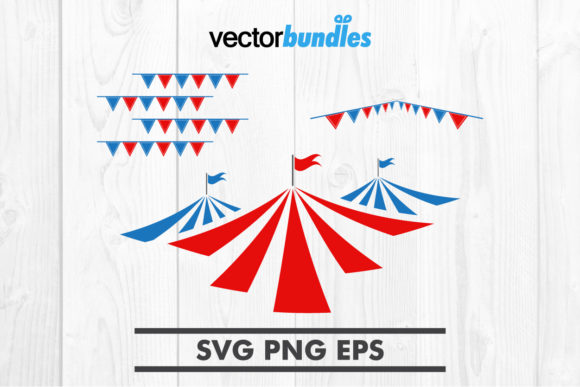 Download Free Circus Clip Art Svg Graphic By Vectorbundles Creative Fabrica for Cricut Explore, Silhouette and other cutting machines.
