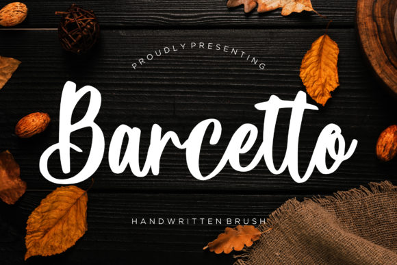 Print on Demand: Barcetto Script & Handwritten Font By CreatypeStudio