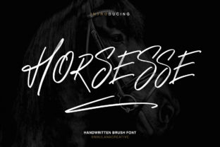 Print on Demand: Horsesse Display Font By Maulana Creative