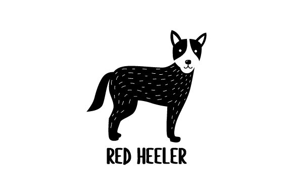 Red Heeler Dogs Craft Cut File By Creative Fabrica Crafts - Image 2