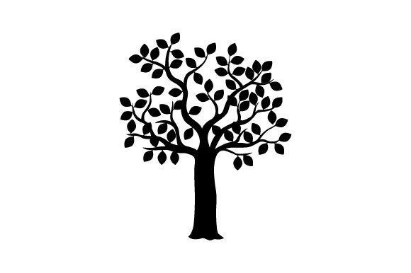 Download Free Tree With Orange Red Leaves Svg Cut File By Creative Fabrica for Cricut Explore, Silhouette and other cutting machines.