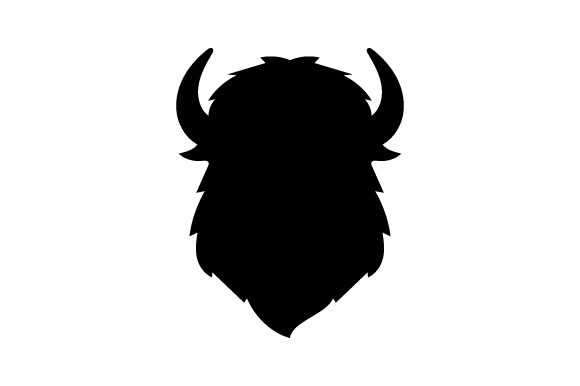 Download Free Bison Head Silhouette Svg Cut File By Creative Fabrica Crafts for Cricut Explore, Silhouette and other cutting machines.
