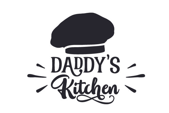 Download Free Daddy S Kitchen Svg Cut File By Creative Fabrica Crafts for Cricut Explore, Silhouette and other cutting machines.