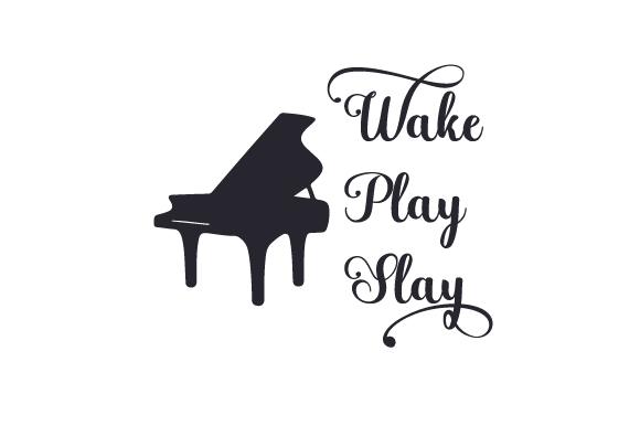 Download Free Wake Play Slay Archivos De Corte Svg Por Creative Fabrica Crafts for Cricut Explore, Silhouette and other cutting machines.