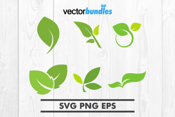 Download Free Leaf Green Clip Art Svg Graphic By Vectorbundles Creative Fabrica for Cricut Explore, Silhouette and other cutting machines.