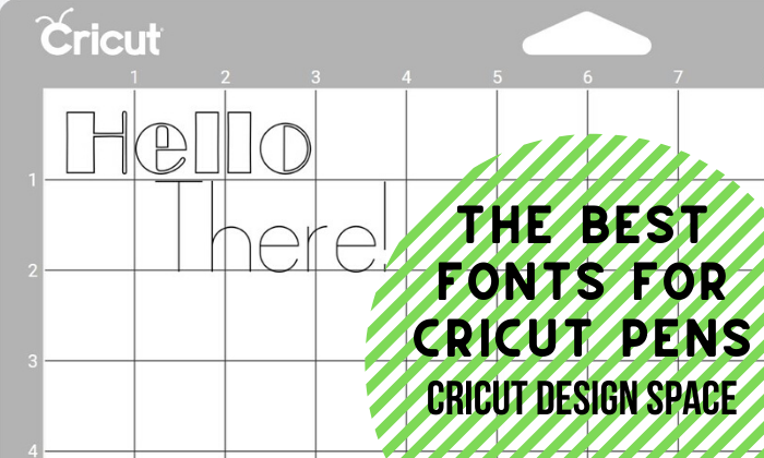 Download Free The Best Fonts To Use With The Cricut Pens Creative Fabrica for Cricut Explore, Silhouette and other cutting machines.