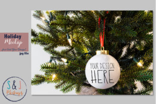 Download Free Christmas Ornament Mockup Graphic By Sandjmockups Creative Fabrica SVG Cut Files