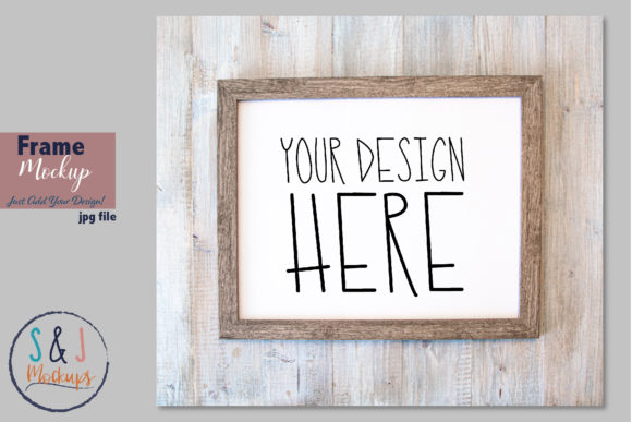 Frame Mockup Photo, Art Print Mockup Graphic Product Mockups By sandjmockups