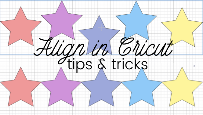 How To Use The Align Tool In Cricut Design Space Creative Fabrica