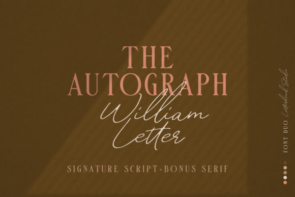 Print on Demand: William Script & Handwritten Font By letterhend