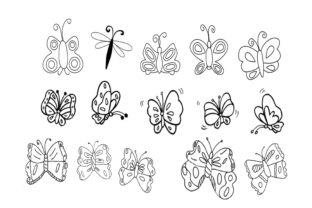Butterflies Graphic By capeairforce