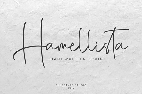 Print on Demand: Hamellista Script & Handwritten Font By Bluestype Studio - Image 1