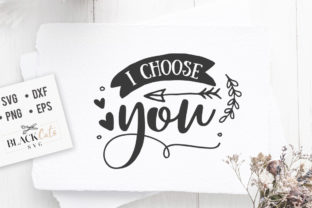 Download Free I Choose You Svg Graphic By Blackcatsmedia Creative Fabrica for Cricut Explore, Silhouette and other cutting machines.