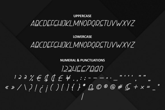 Print on Demand: Right Hand Italic Display Font By ibeydesign - Image 3