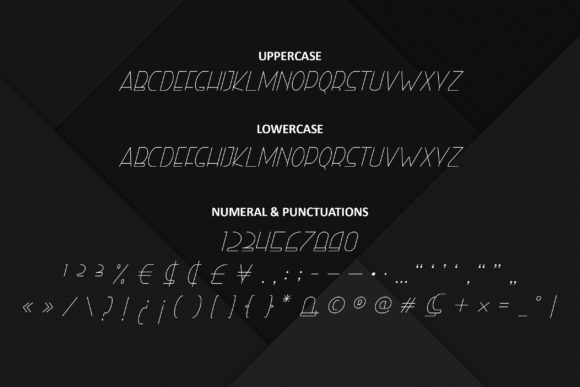 Print on Demand: Right Hand Hairline Italic Display Font By ibeydesign - Image 3
