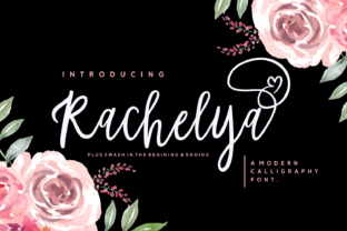 Print on Demand: Rachelya Script & Handwritten Font By Dreamink (7ntypes)