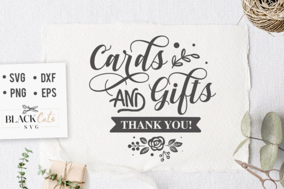 Cards and Gifts SVG Graphic Crafts By BlackCatsMedia - Image 1