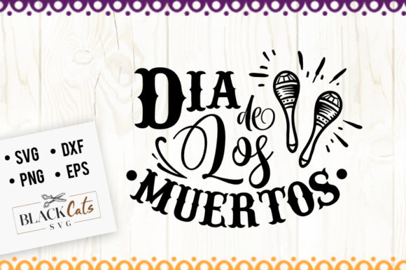 Download Free Dia De Los Muertos Svg Graphic By Blackcatsmedia Creative Fabrica for Cricut Explore, Silhouette and other cutting machines.