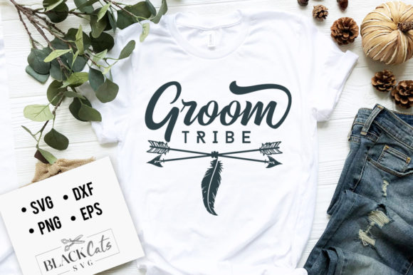 Groom Tribe SVG Graphic Crafts By BlackCatsMedia