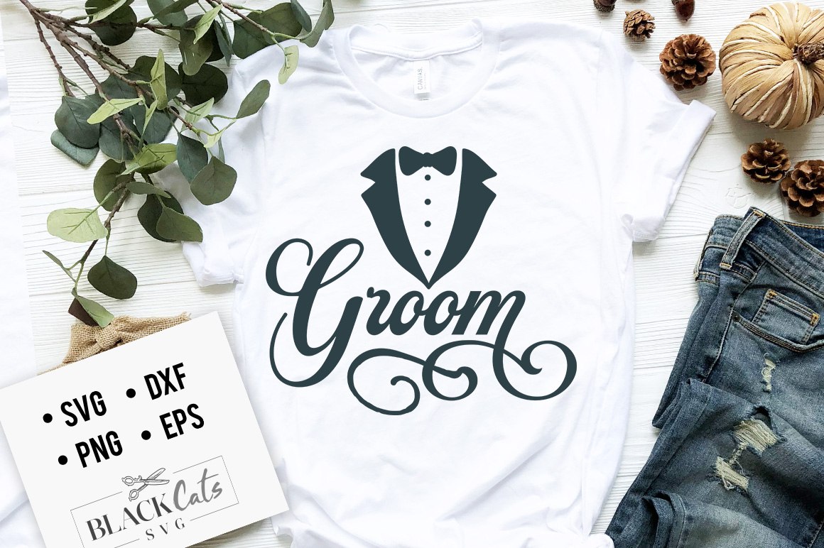 Download Free Groom Graphic By Blackcatsmedia Creative Fabrica for Cricut Explore, Silhouette and other cutting machines.