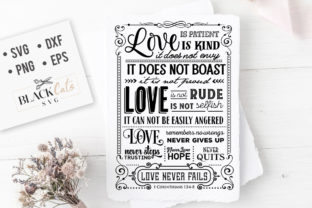 Love is Patient Love is Kind SVG Graphic By sssilent_rage
