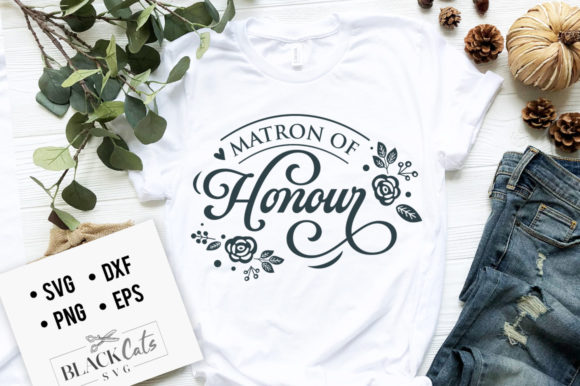 Print on Demand: Matron Oh Honor Graphic Crafts By BlackCatsMedia