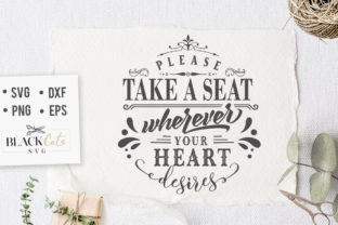 Print on Demand: Please Take a Seat Graphic Crafts By BlackCatsMedia