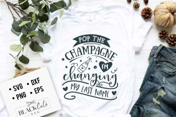 Download Free Pop The Champagne Svg Graphic By Blackcatsmedia Creative Fabrica for Cricut Explore, Silhouette and other cutting machines.
