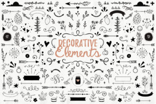 Handdrawn Decorative Elements Graphic By switzershop