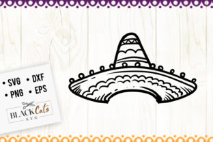 Download Free Sombrero Graphic By Blackcatsmedia Creative Fabrica for Cricut Explore, Silhouette and other cutting machines.