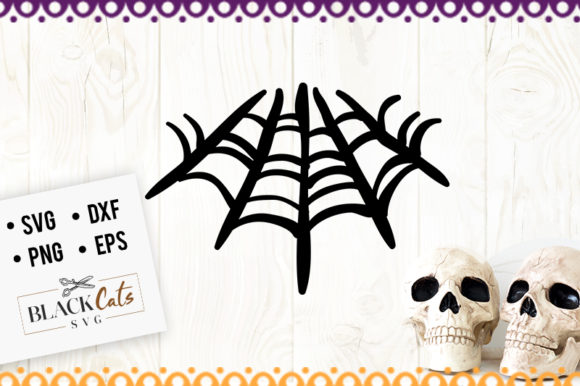 Download Free Spider Web Svg Graphic By Blackcatsmedia Creative Fabrica SVG Cut Files