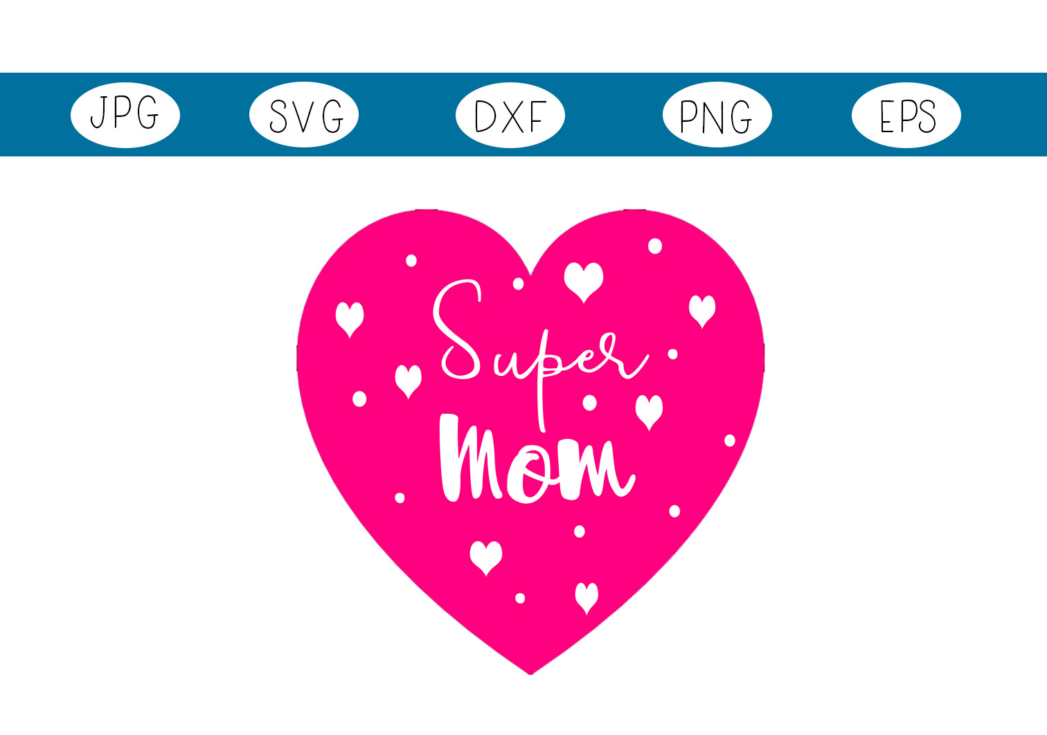 Download Free Super Mom Creative Fabrica for Cricut Explore, Silhouette and other cutting machines.