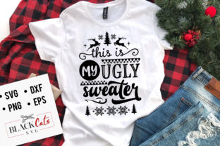 Print on Demand: This is My Ugly Sweater SVG Graphic Crafts By BlackCatsMedia