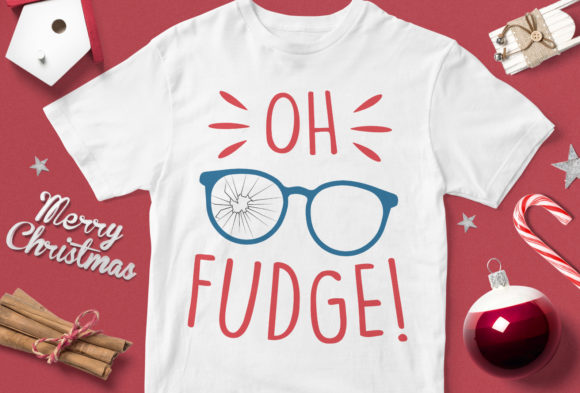 Print on Demand: Oh Fudge Graphic Illustrations By svgsupply