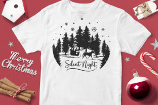 Silent Night Graphic By svgsupply