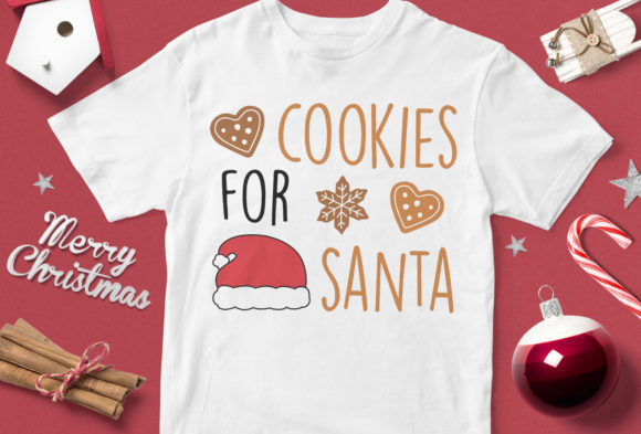 Download Free Cookies For Santa Graphic By Svgsupply Creative Fabrica for Cricut Explore, Silhouette and other cutting machines.