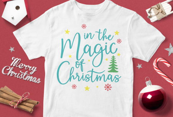 Print on Demand: In the Magic of the Christmas Graphic Illustrations By svgsupply