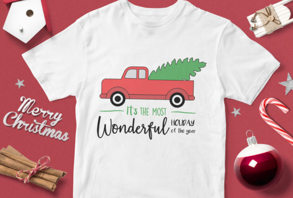 Print on Demand: Is the Most Wonderful Holiday of the Year Graphic Illustrations By svgsupply - Image 1