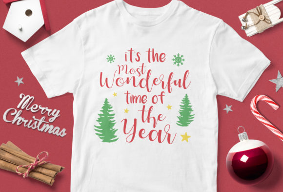It's the Most Wonderful Time of the Year Graphic By svgsupply