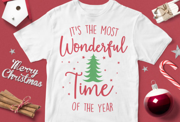 Print on Demand: It's the Most Wonderful Time of the Year Graphic Illustrations By svgsupply