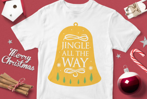 Print on Demand: Jingle All the Way Graphic Illustrations By svgsupply