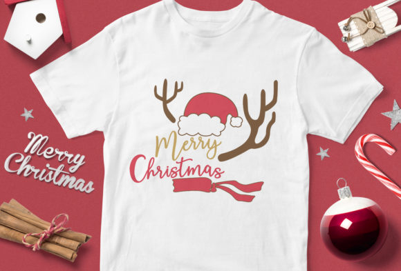 Print on Demand: Merry Christmas Graphic Illustrations By svgsupply