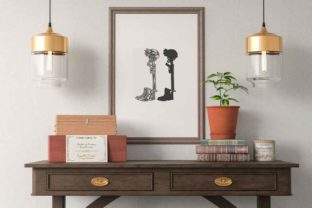 Print on Demand: Military Fallen Soldier Graphic Illustrations By svgsupply 2
