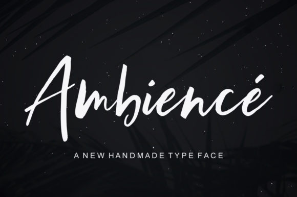 Print on Demand: Ambience Script & Handwritten Font By Bal Studio