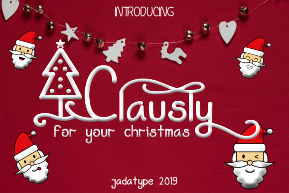 Clausly Display Font By jadatype